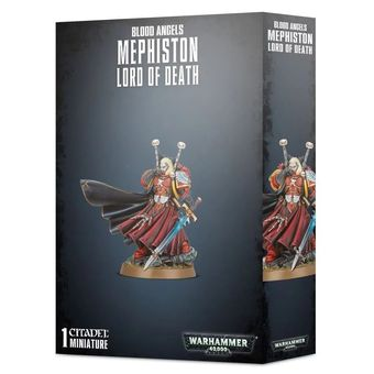 Blood Angels Mephiston lord of the Death