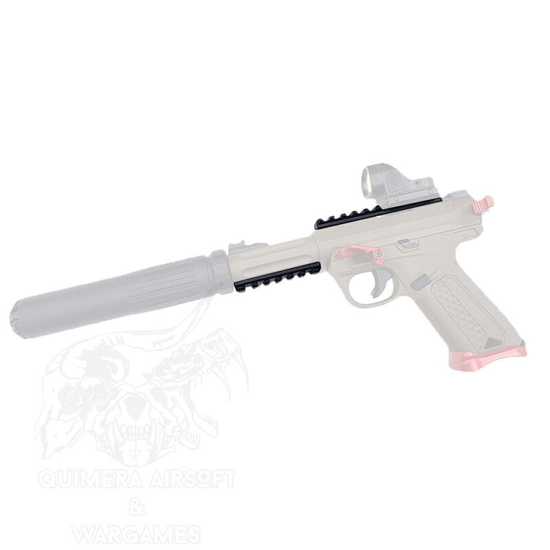 Action Army Kit de railes para AAP-01 Assassin (1 Upper + 1 Lower)