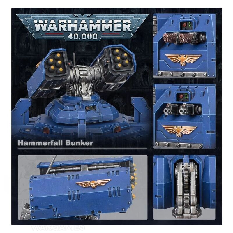 PREPEDIDO Space Marines: Bunker Hammerfall